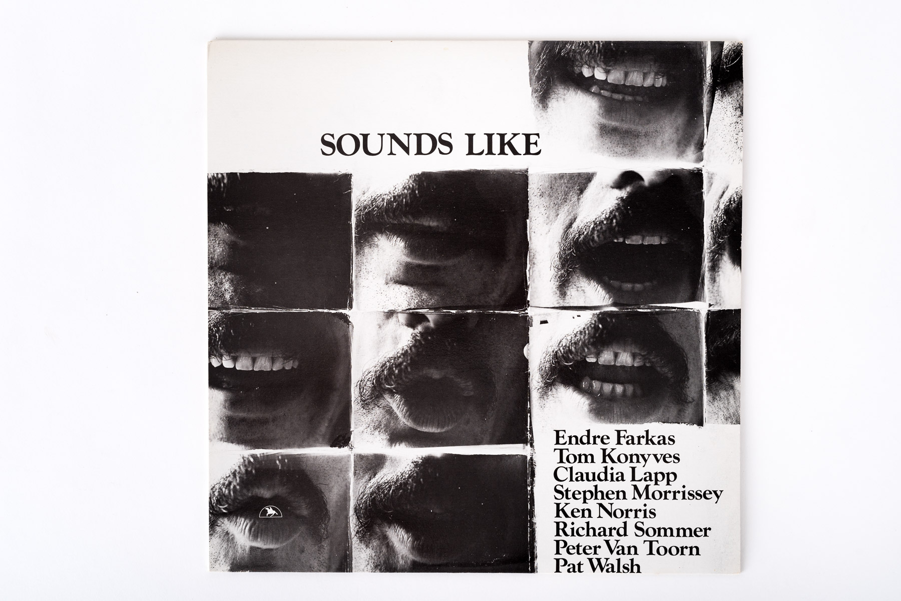 Stereo recording of sound poetry by eight Montreal poets, 1980 (Front)