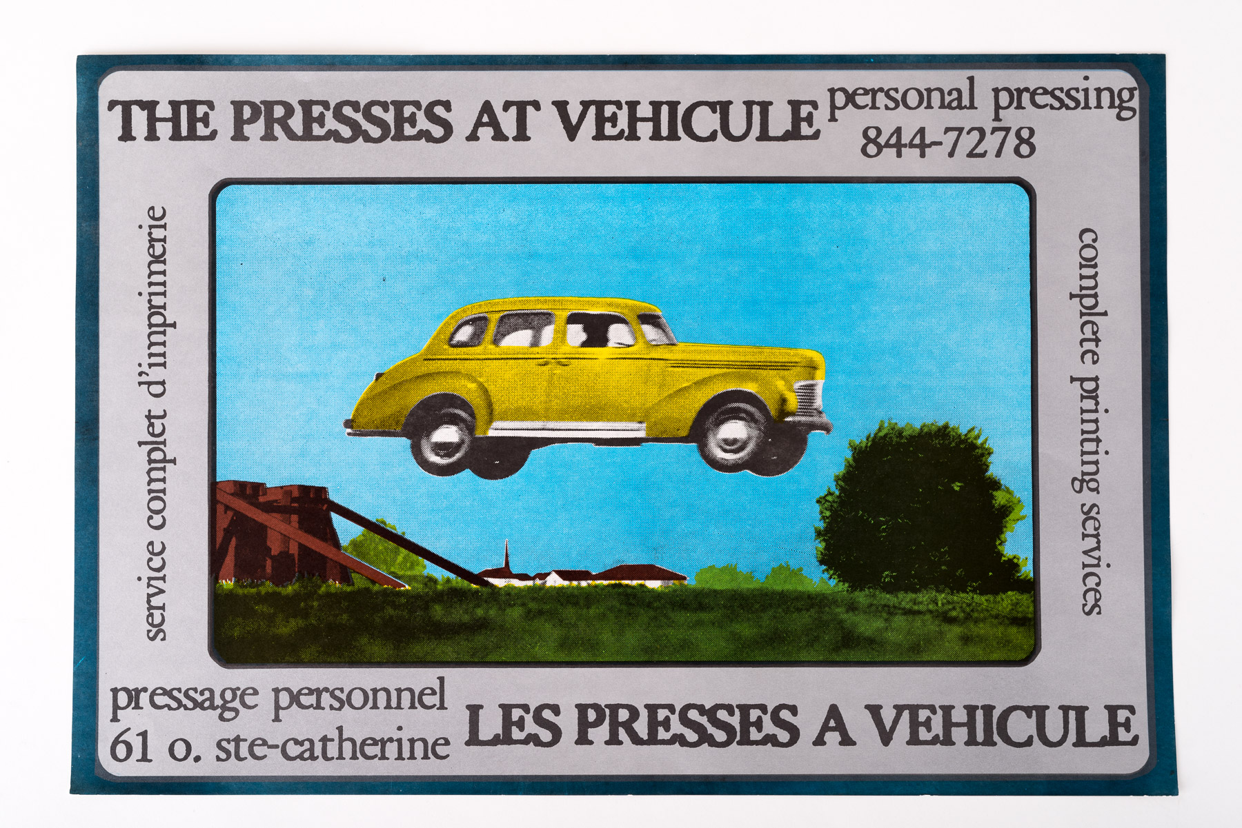 The Presses at Vehicule poster